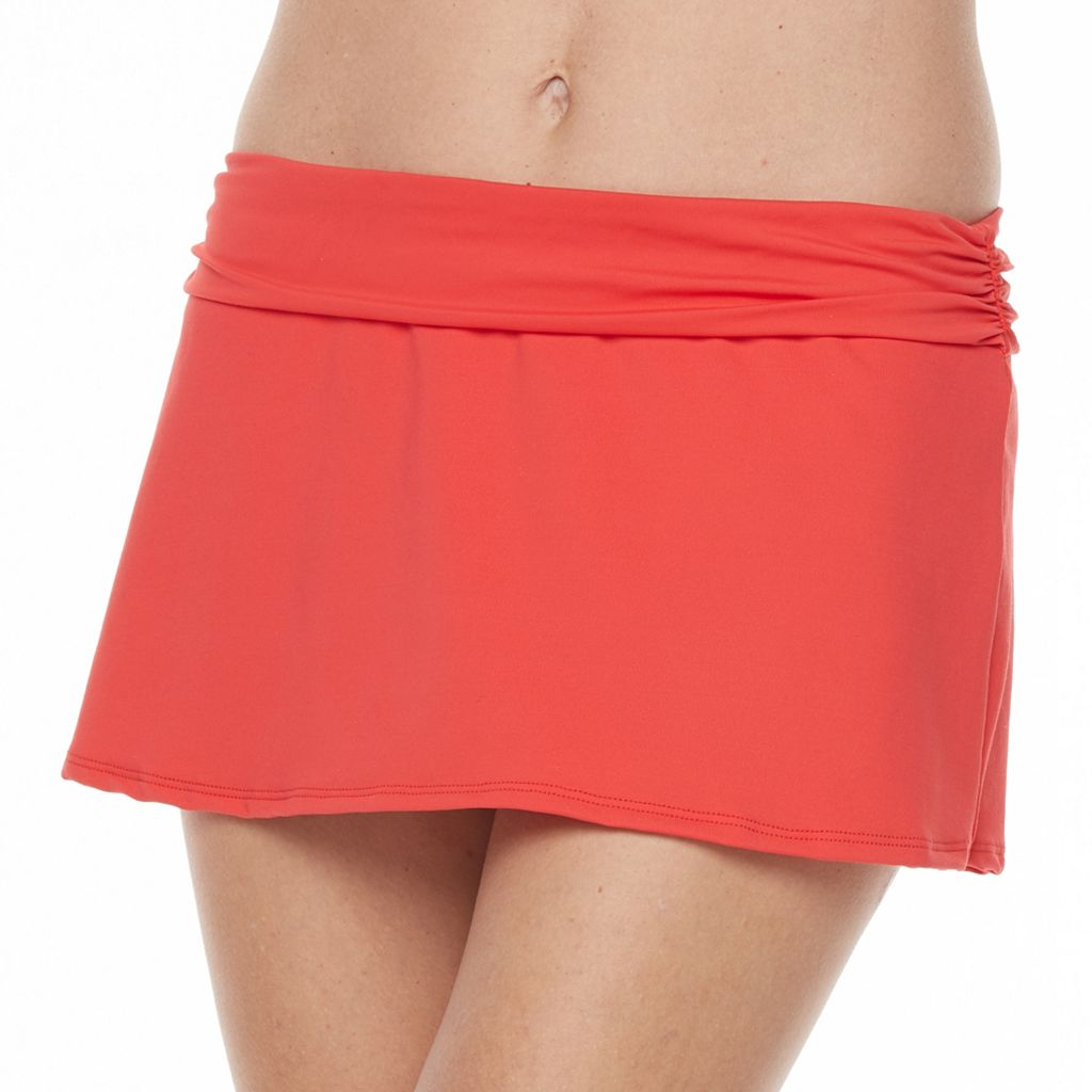 Women's Chaps Solid Skirtini Bottoms