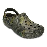 Crocs Classic Realtree Xtra Fuzz Lined Adult Clogs