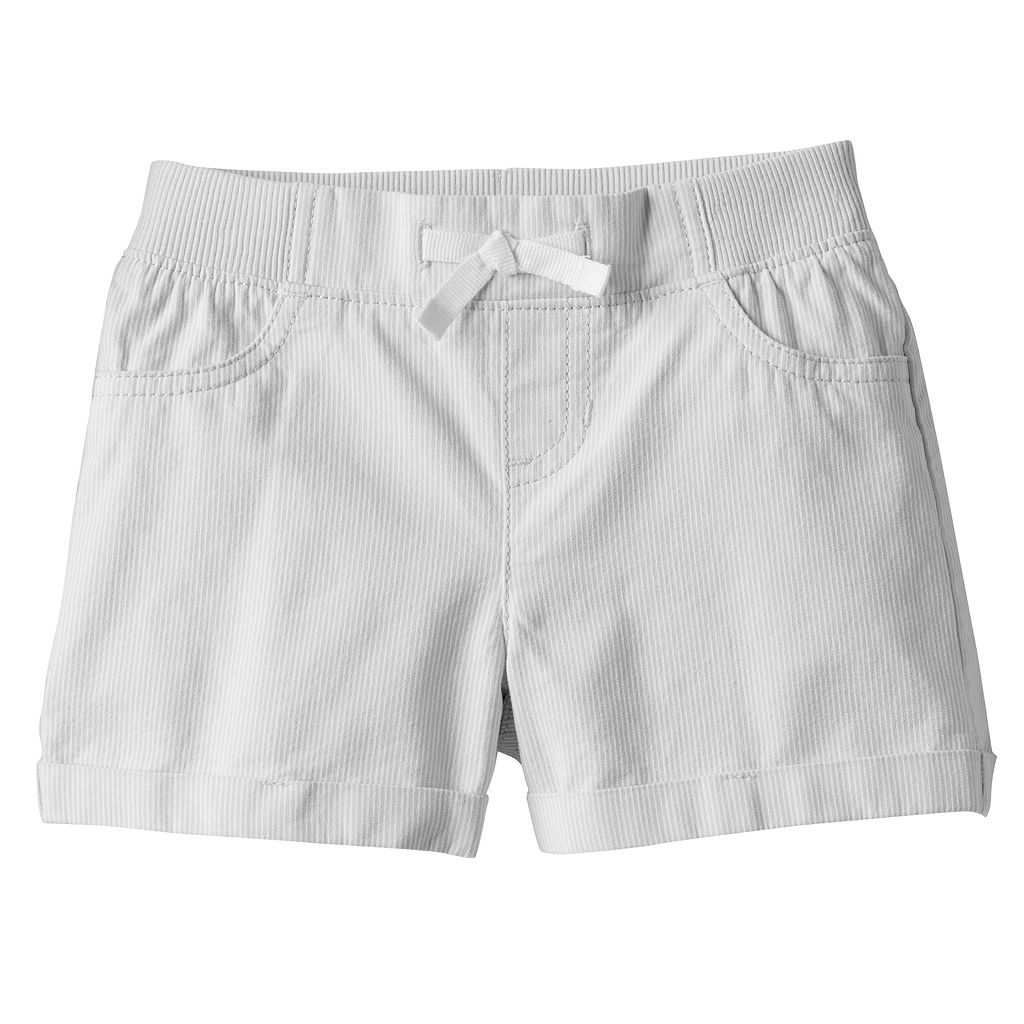 Toddler Girl Jumping Beans® Rib Waist Woven Shorts