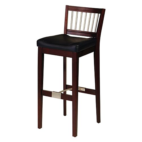Metal Stretcher Bar Stool - Cherry