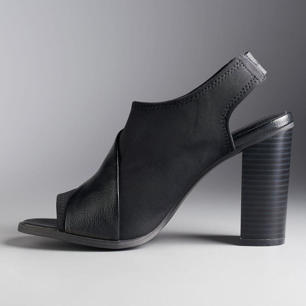 Simply Vera Vera Wang Women's Stretch High Heels
