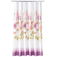 Rainbow Garden Shower Curtain