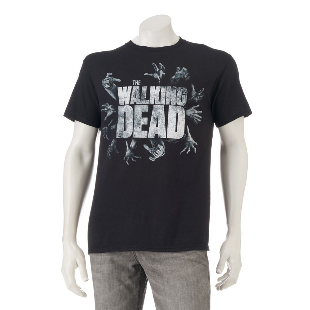 Black t shirts kohls - Men S The Walking Dead Reaching Tee