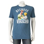 Men's Disney's The Muppets 'Because Science' Tee