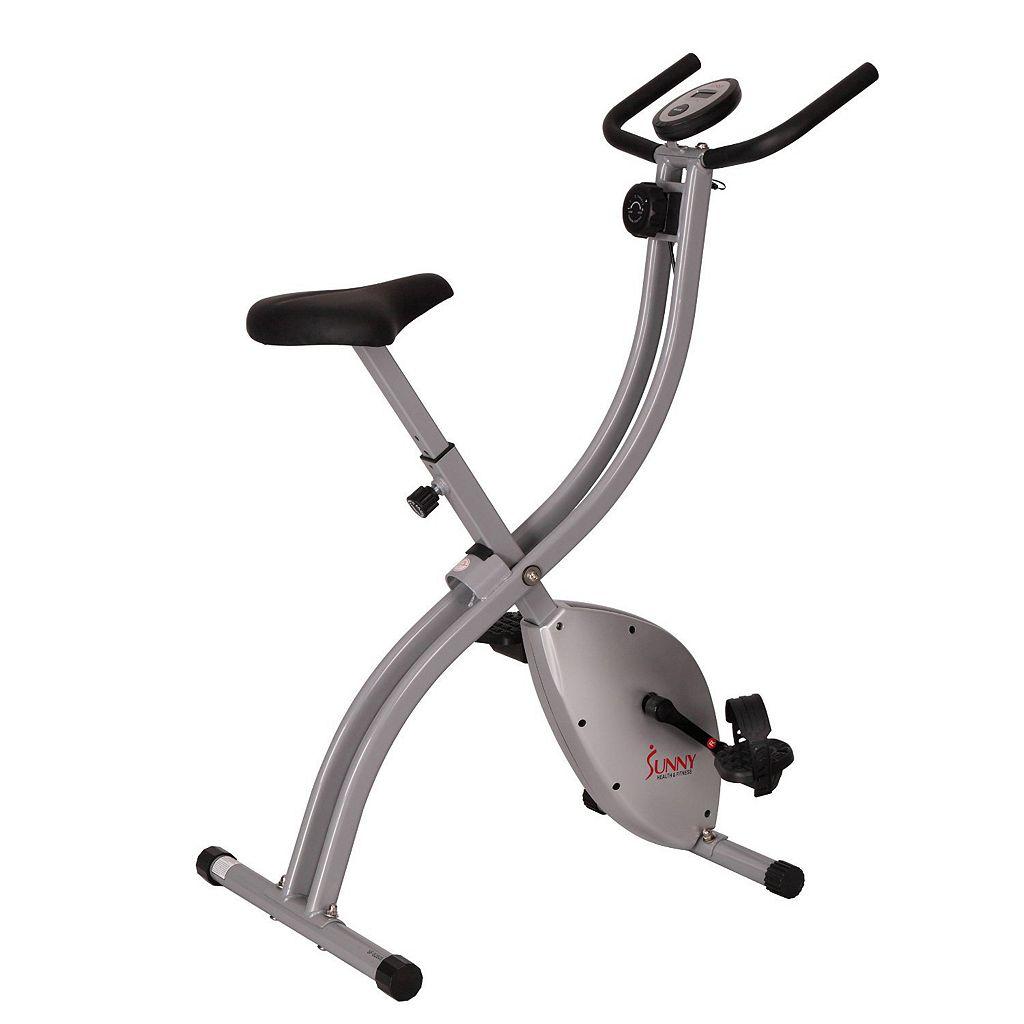 Sunny Health & Fitness Magnetic Folding Exercise Bike (SF-B2605)