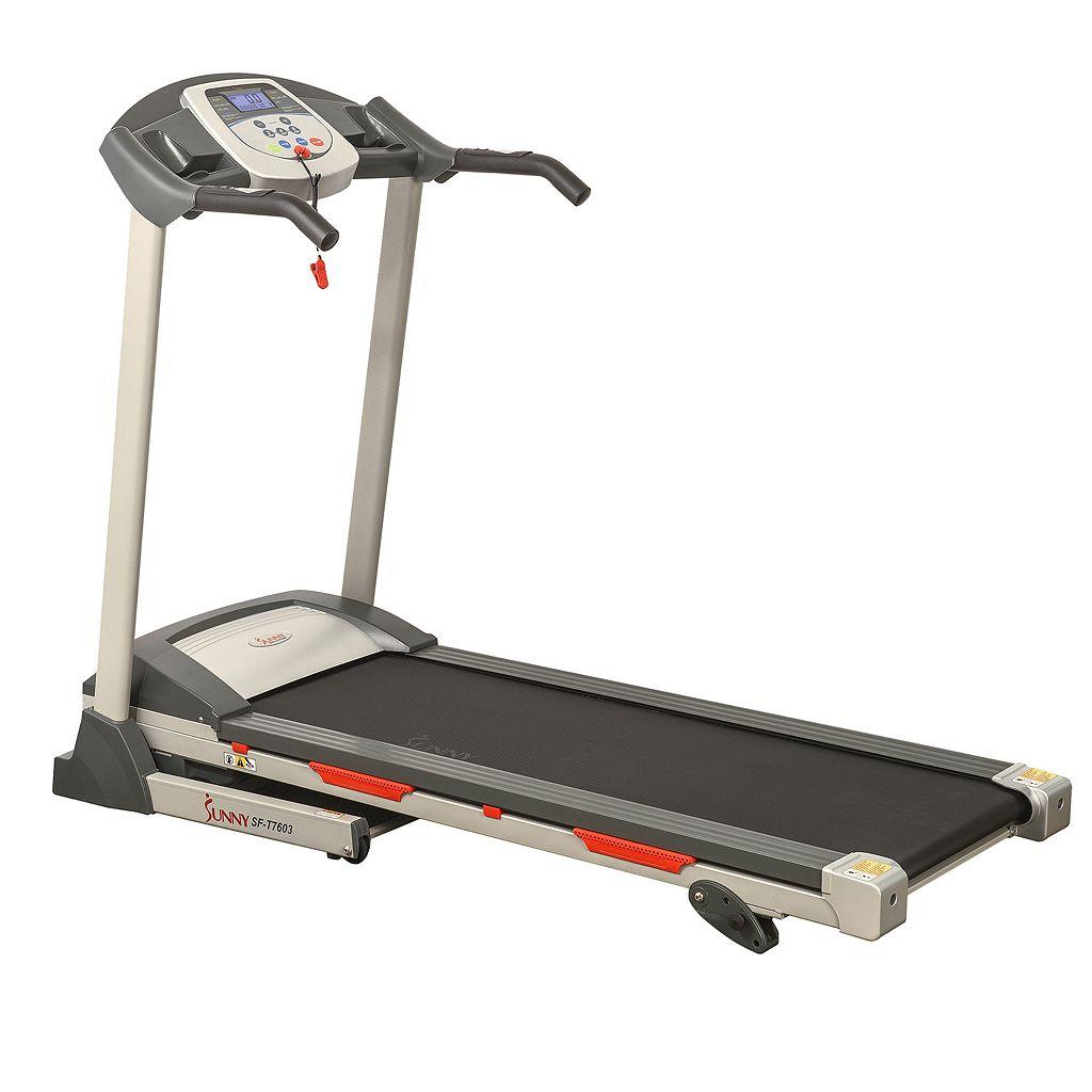 Sunny Health & Fitness Motorized Treadmill (SF-T7603)