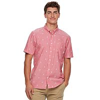Men's Vans Rampant Button-Down Shirt