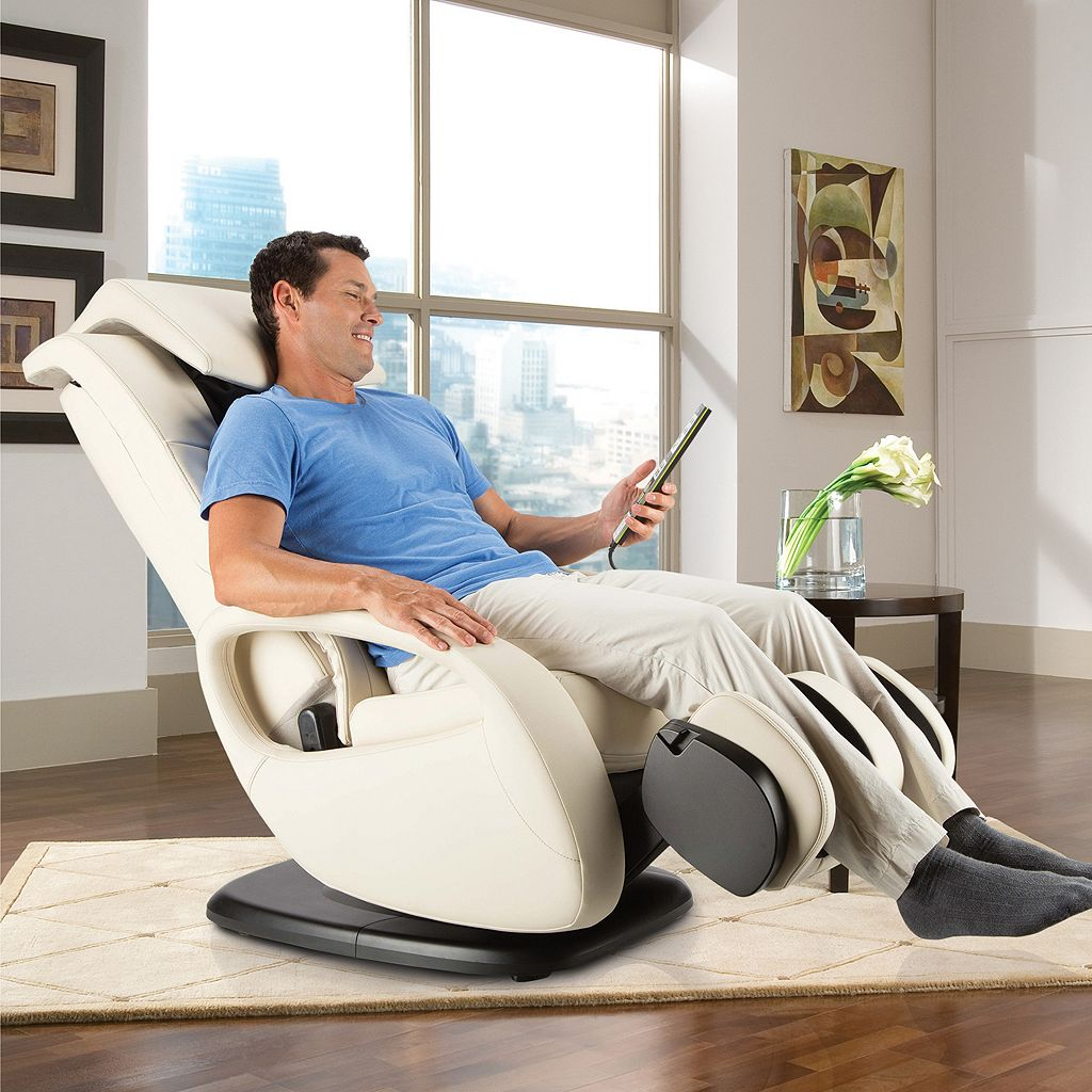 Human Touch Whole Body 7.1 Swivel Reclining Massage Chair with Ottoman