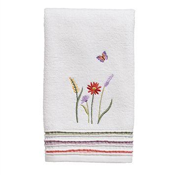 Rainbow Garden Hand Towel