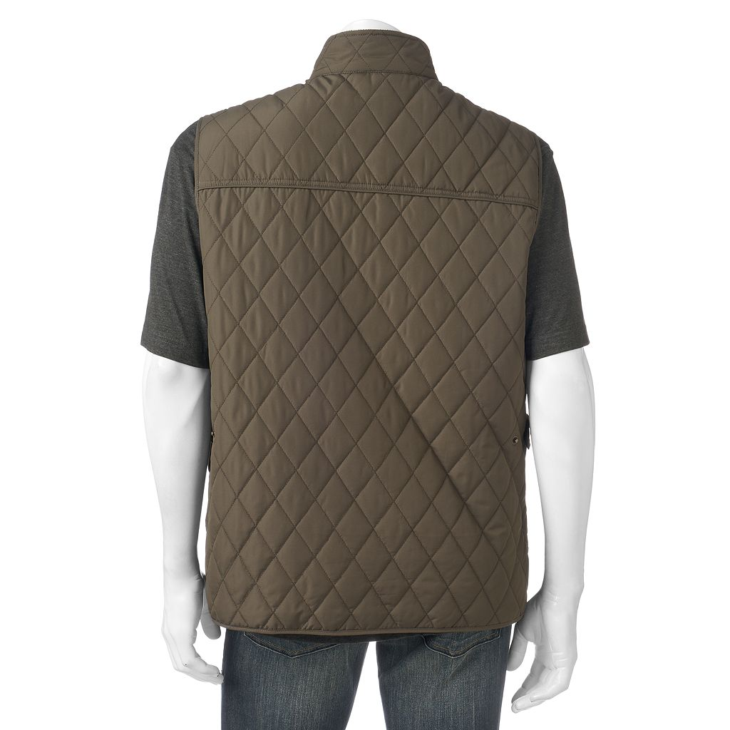 Men's Tower by London Fog Diamond Quilted Vest