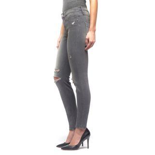 Women's Rock & Republic® Kashmiere Gray Ripped Denim Leggings