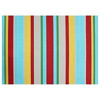 SONOMA Goods for Life Multi Stripe Indoor Outdoor Rug