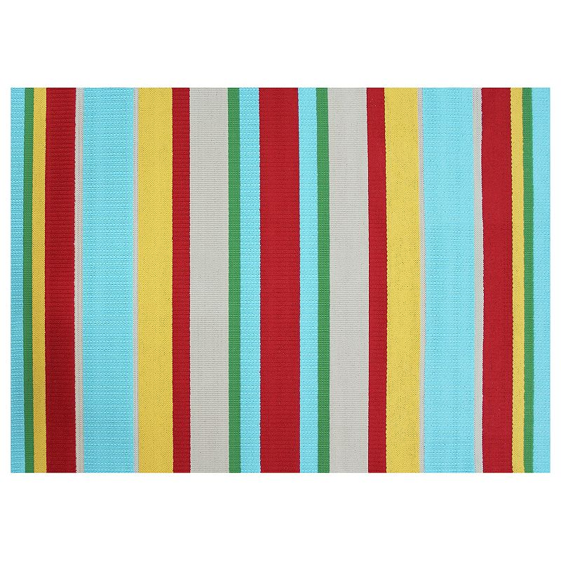 Deals List:  SONOMA Goods for Life Multi Stripe Indoor Outdoor Rug