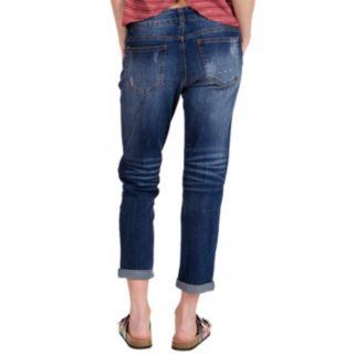 Juniors' Unionbay Margot Ripped Boyfriend Jeans