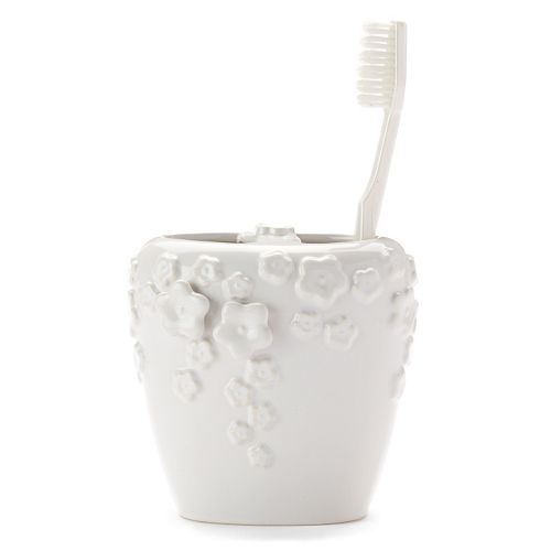 Rainbow Garden Toothbrush Holder