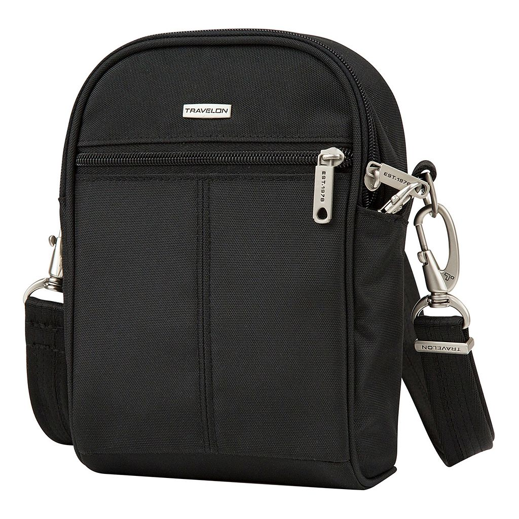Travelon Anti-Theft Classic RFID-Blocking Convertible Tour Bag