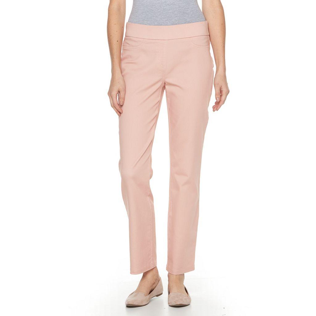 Women's Briggs Pull-On Straight-Leg Pants