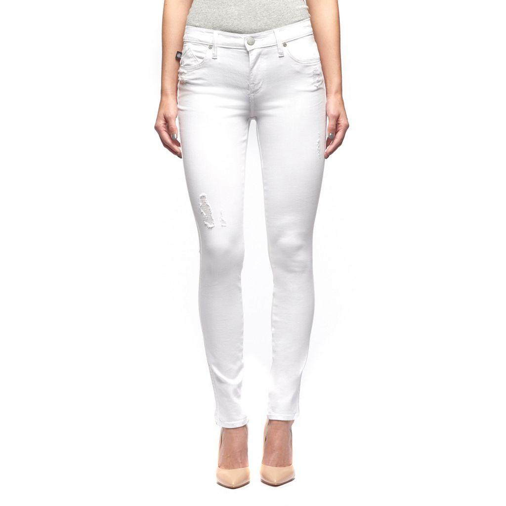 Women's Rock & Republic® Berlin White Skinny Jeans