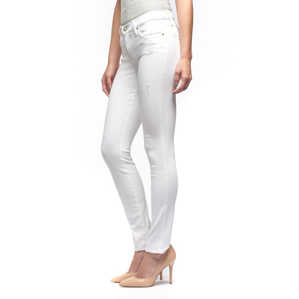 Women's Rock & Republic® Berlin White Skinny Jeans
