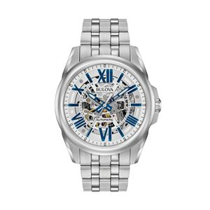 Bulova Men's Stainless Steel Automatic Watch - 96A187