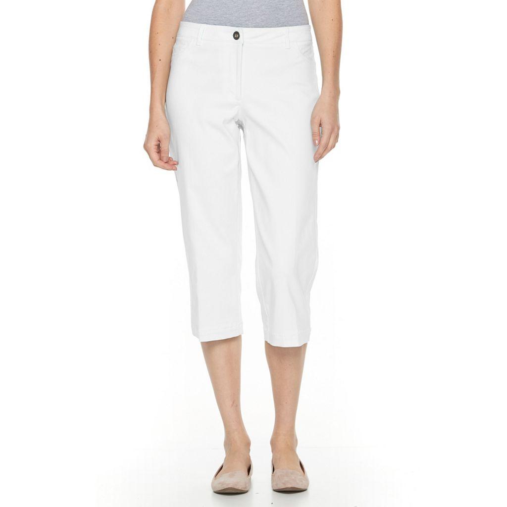 Women's Briggs Straight-Leg Capris
