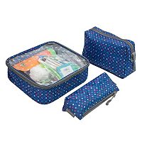 Travelon Toiletry Pouch Set