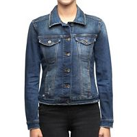 Women's Rock & Republic® Destructed Jean Jacket