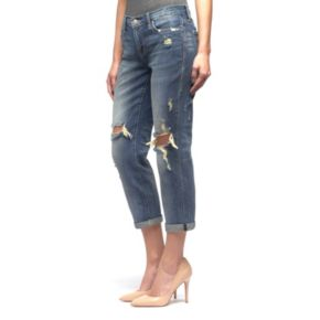 Women's Rock & Republic®® Indee Ripped Slim-Fit Boyfriend Jeans