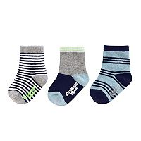 Boys 4-8 OshKosh B'gosh® 3-pk. Print Crew Socks
