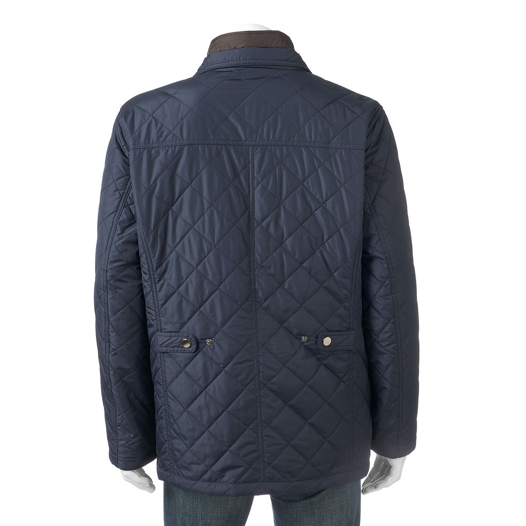 Big & Tall Towne Quilted Field Coat