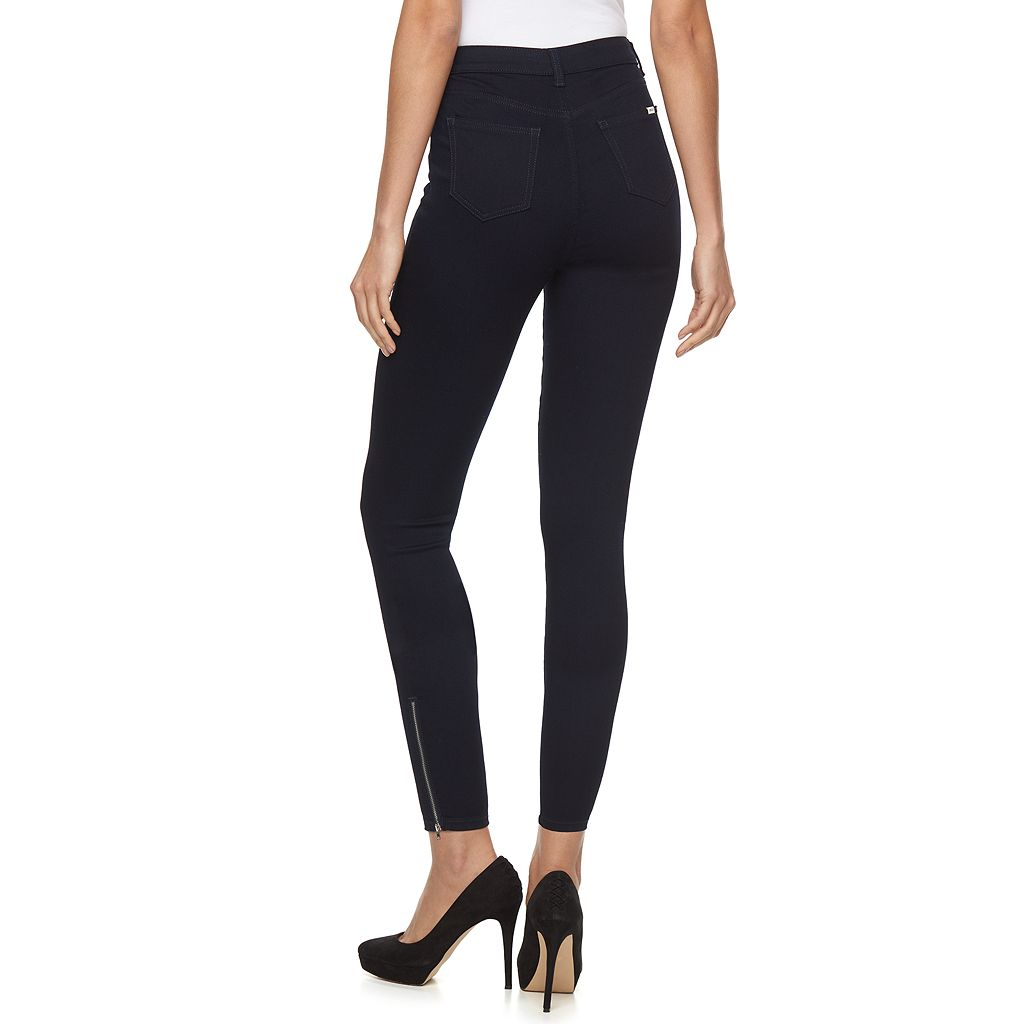 Women's Jennifer Lopez Zippered Ankle Jeans