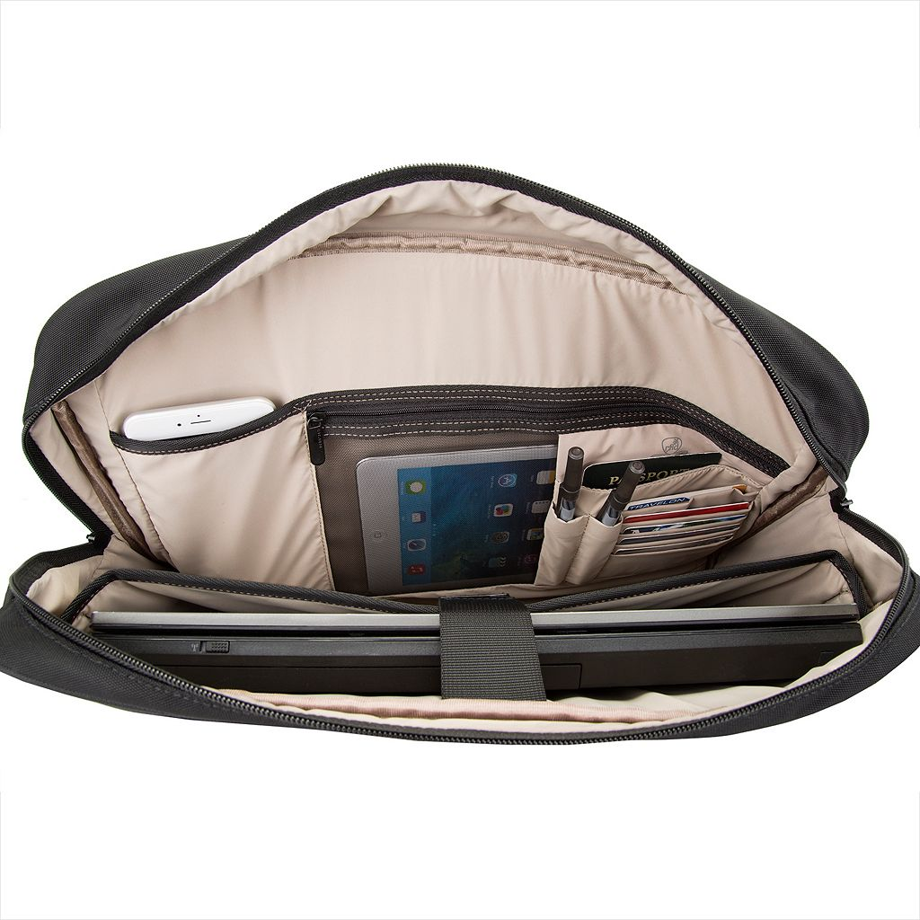 Travelon Anti-Theft Classic Plus RFID-Blocking Laptop Briefcase