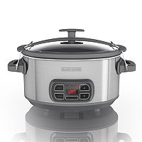 Black & Decker 7-qt. Digital Programmable Slow Cooker