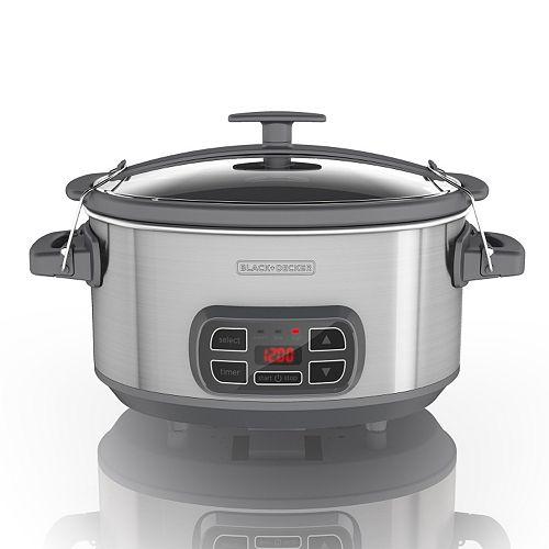 Black & Decker 7-qt. Digital Programmable Slow Cooker
