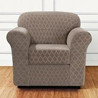 Sure Fit Marrakesh 2-piece Stretch Chair Slipcover
