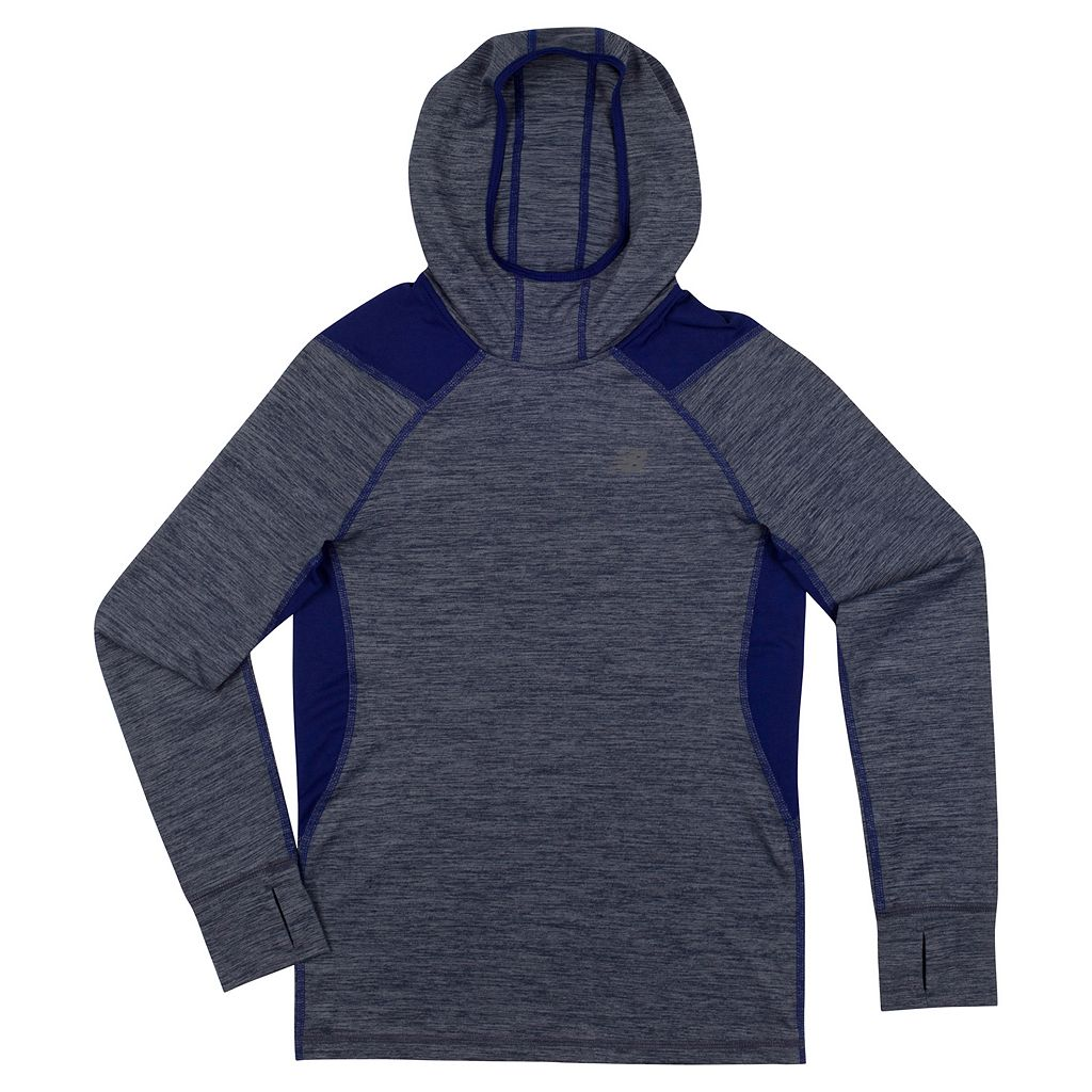 Boys 4-7 New Balance Performance Space-Dyed Hoodie