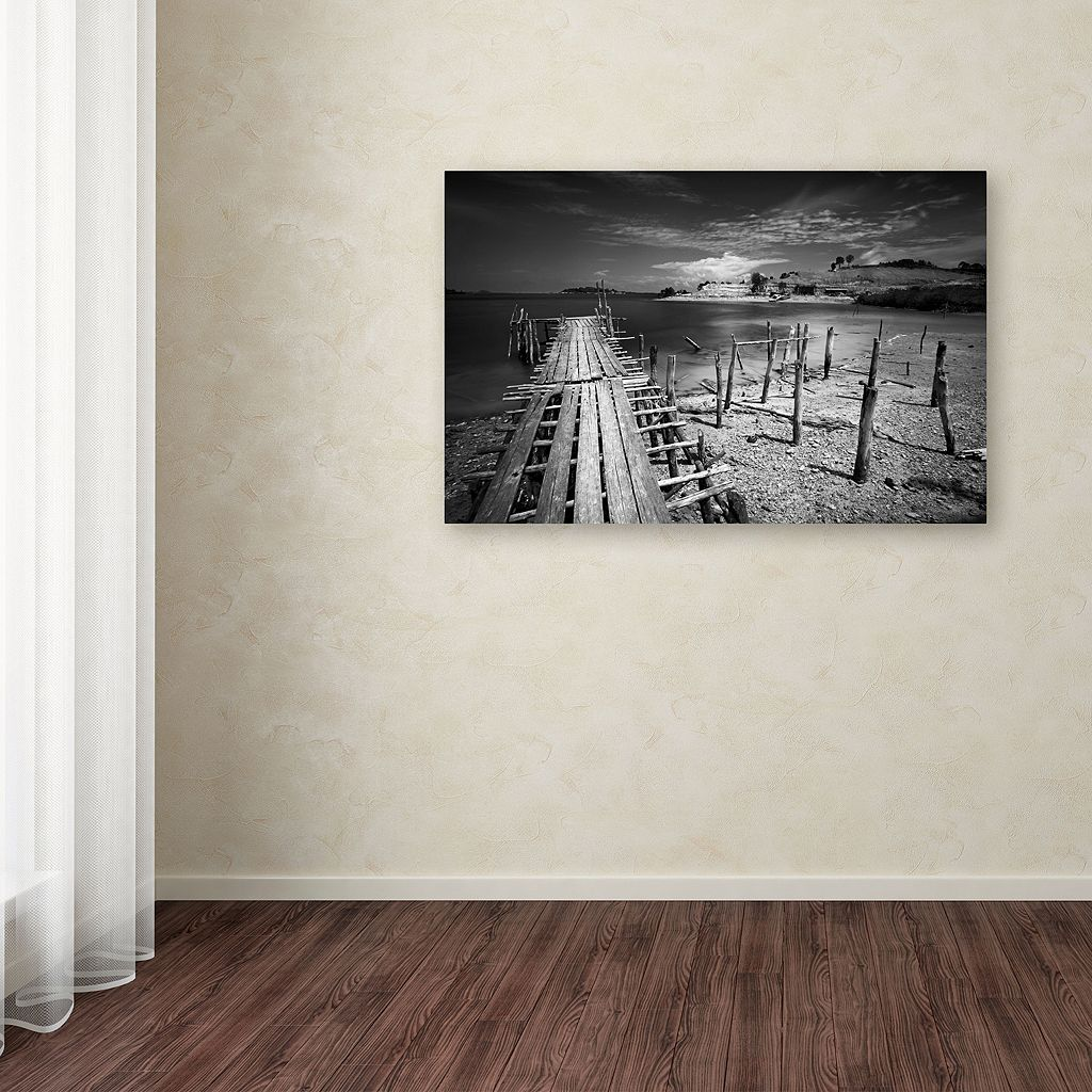 Trademark Fine Art Reach Canvas Wall Art