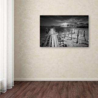 Trademark Fine Art Reach Canvas Wall Art