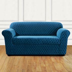 Sure Fit Stretch Marrakesh 2-piece Sofa Slipcover
