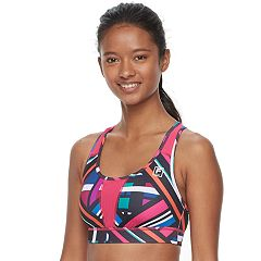 FILA SPORT® Performance Running Medium-Impact Sports Bra