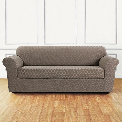 Sure Fit Stretch Marrakesh 2-piece Loveseat Slipcover