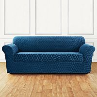 Sure Fit Marrakesh 2-piece Stretch Sofa Slipcover