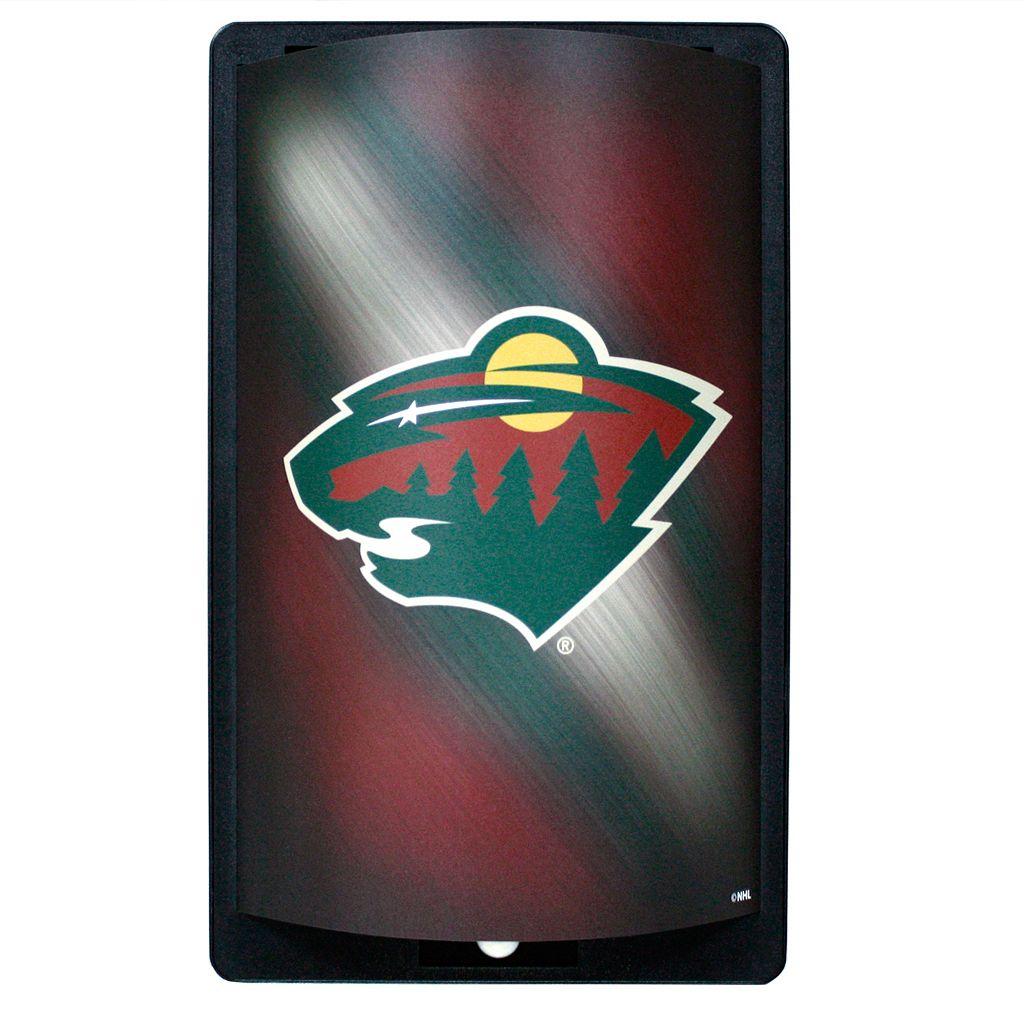 Minnesota Wild MotiGlow Light-Up Sign