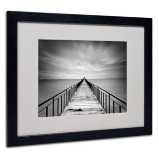 Trademark Fine Art Withstand Black Framed Wall Art