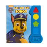 Paw Patrol Go! Go! Go! Songs Book