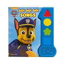 Paw Patrol Go! Go! Go! Songs Book