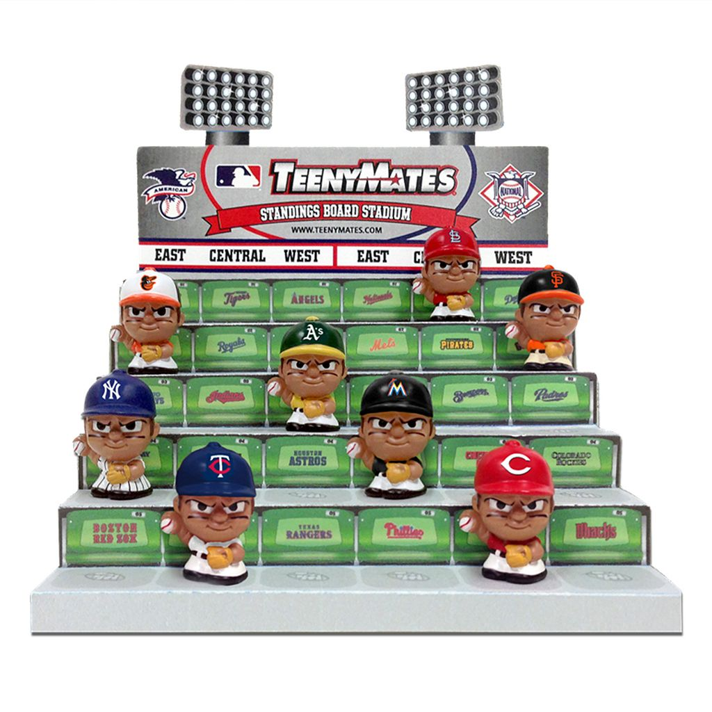 MLB TeenyMates Collector Tin Set