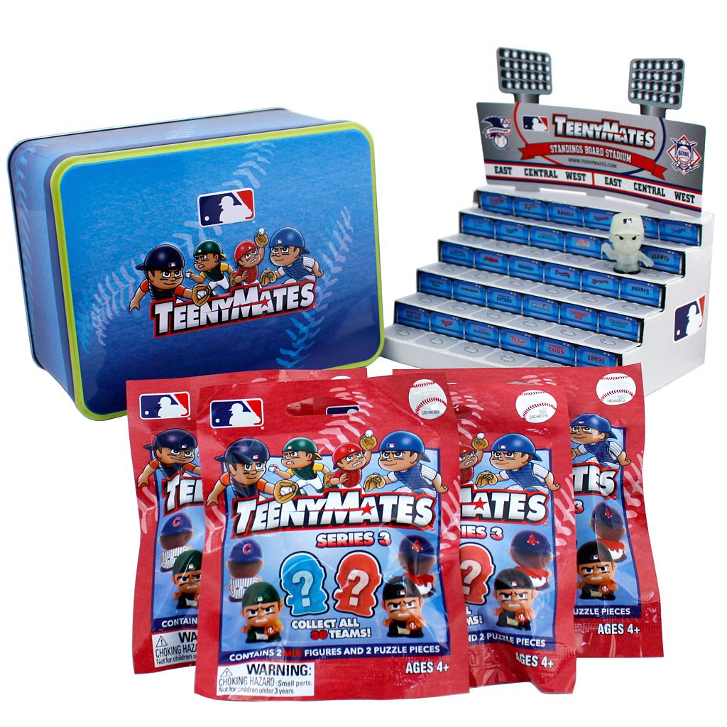 MLB TeenyMates Series 3 Collector Tin Set