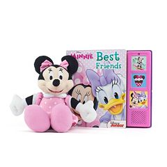 Disney's Minnie Mouse Best Friends Play-a-Sound Book & Minnie Plush Set