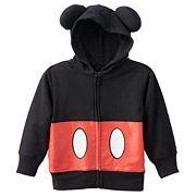 Disney's Mickey Mouse Toddler Boy 3D Ears Zip-Up Hoodie